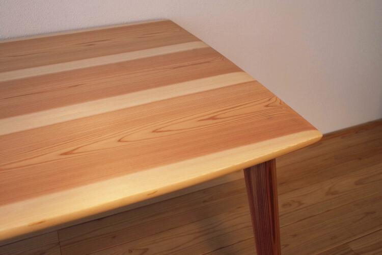 Dining table square【Yoshinosugi】